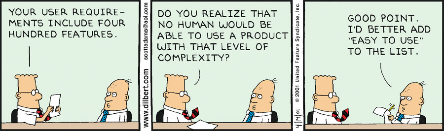Easy to use dilbert